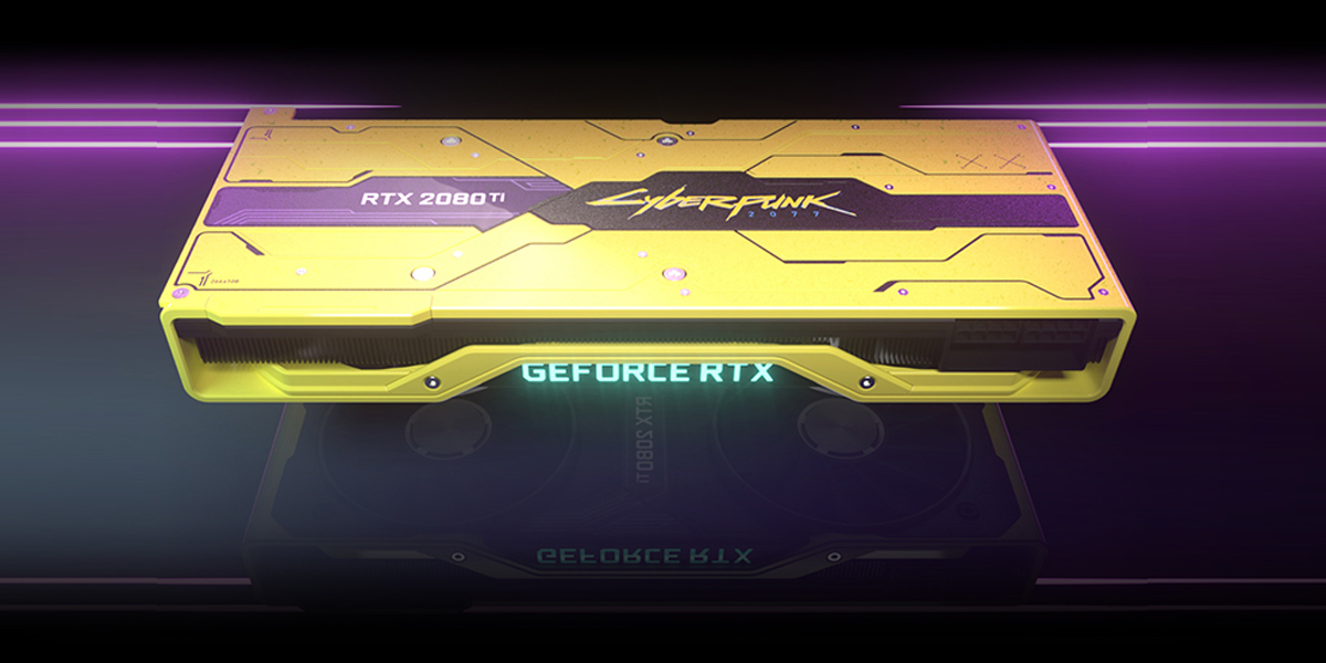NVIDIA RTX 2080 Ti Cyberpunk 2077 Techandising
