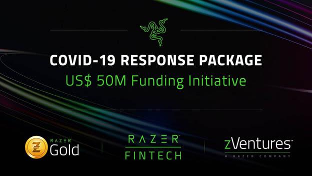 Razer ayudas COVID-19 Techandising