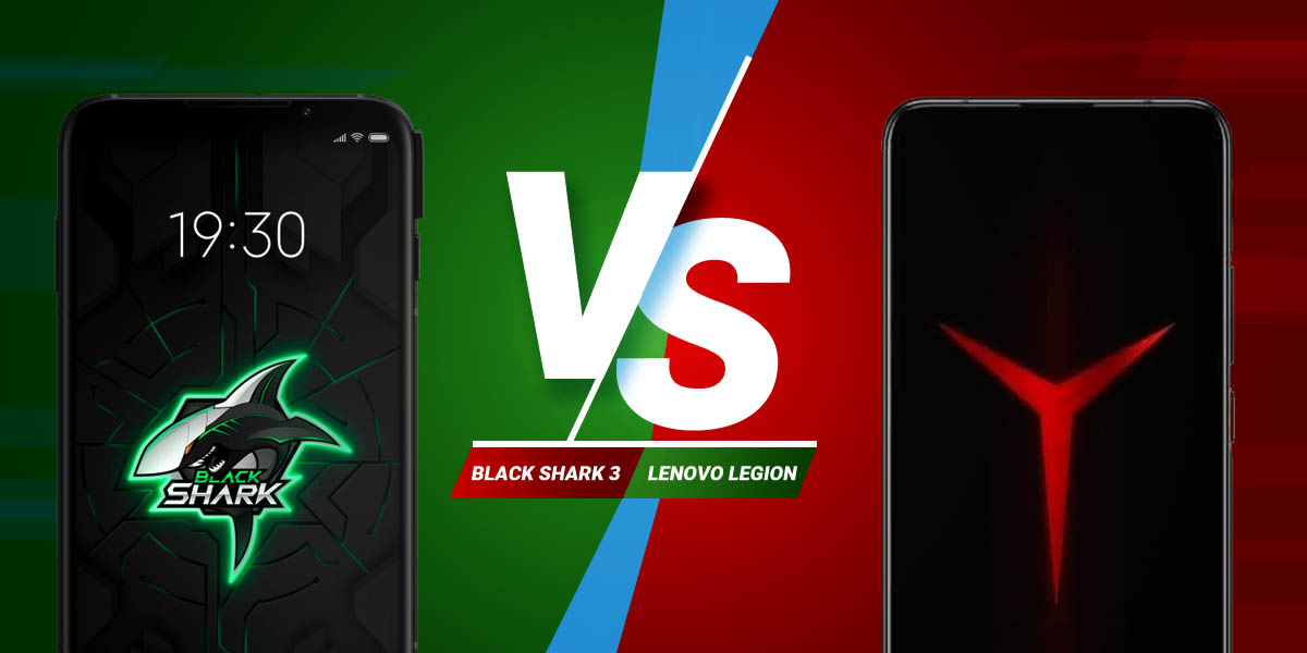 Comparativa Black Shark 3 VS Lenovo Legion Techandising
