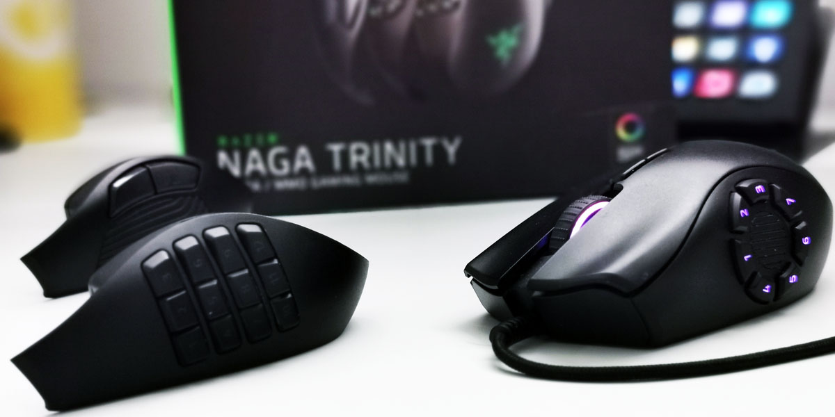 Review Razer Naga Trinity - portada Techandising