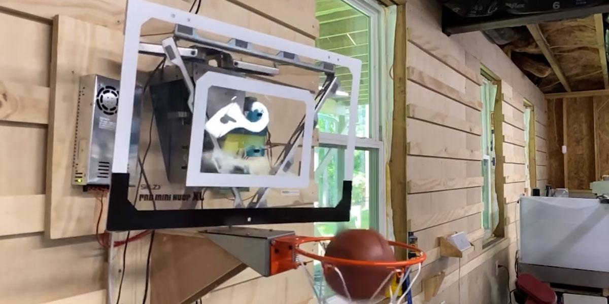 Canasta automatica Techandising canasta