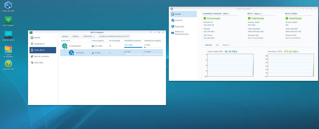Centro de redes y Wi-Fi Mesh Synology RT2600ac Techandising