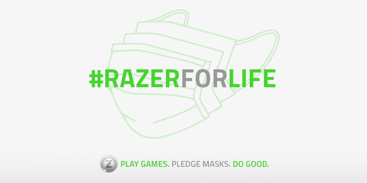 Mascarillas Razer donacion Techandising