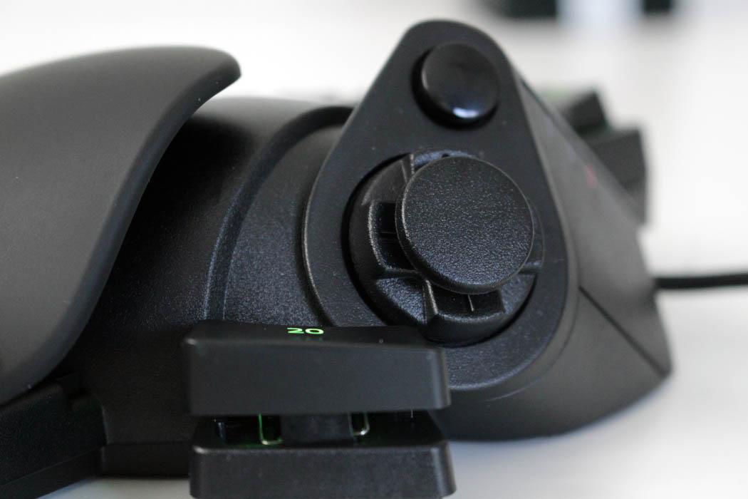 Review Razer Tartarus Pro Techandising detalle d-pad