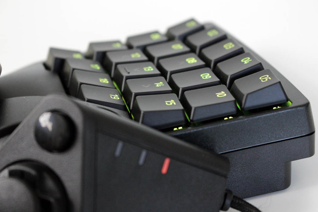 Review Razer Tartarus Pro Techandising teclas