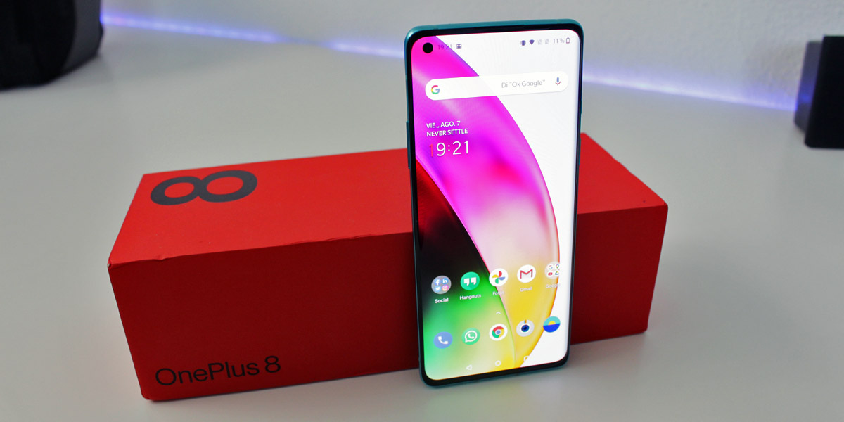 Review OnePlus 8 Analisis Techandising Portada