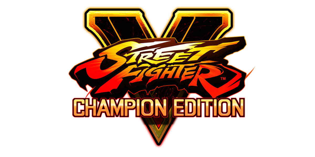 Street Fighter V Champion Edition Logo Techandising