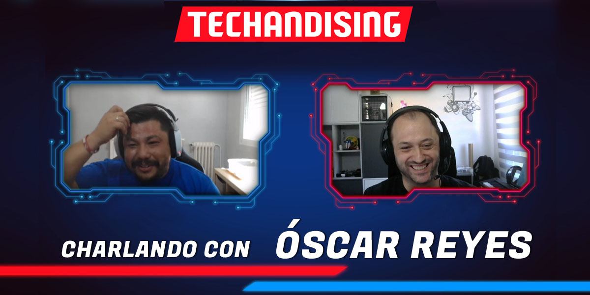 Portada review video entrevista Oscar Reyes Techandising