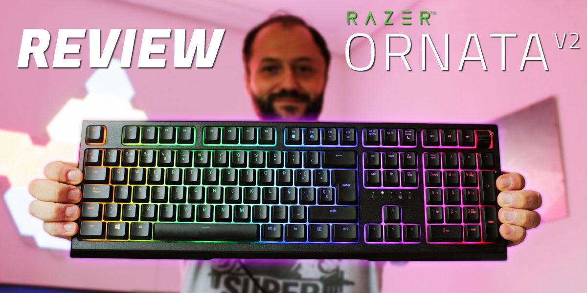 Review Razer Ornata V2 teclado gaming híbrido mecamembrana Techandising