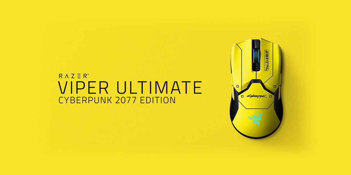 ratón cyberpunk 2077 Razer Viper Ultimate Cyberpunk 2077 Edition Techandising portada